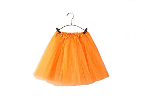 GTKC Tulle Pettiskirt Di Tutu Gonna Arancione Balletto Mini Danza Di Donne Vestito In f1rfTa