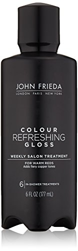 John Frieda Colour Refreshing Gloss, Warm Red, 6 Ounce