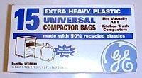 GE - Universal Trash Compactor Bags