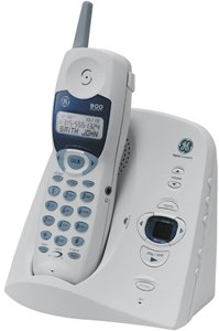 GE 26998ge1 900 MHz Analog Cordless Phone with Digital Answering System and Caller ID