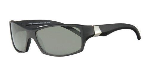 revex polarizadas deportivo Hombre Gafas de sol Sport Biker Cilindro de gafas con bolsa Schwarz,