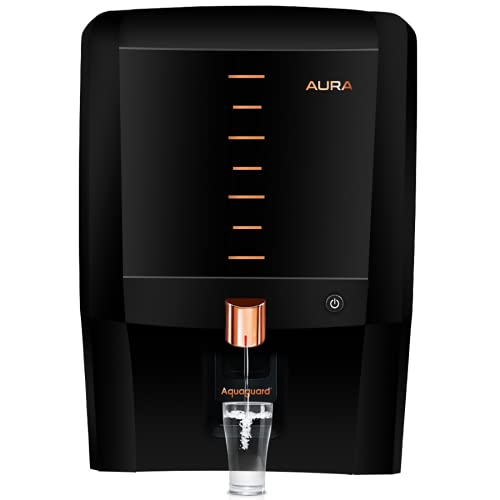 Eureka Forbes Aquaguard Aura 7L water purifier UV e-boiling+Ultra Filtration with Active Copper, Mineral Guard…