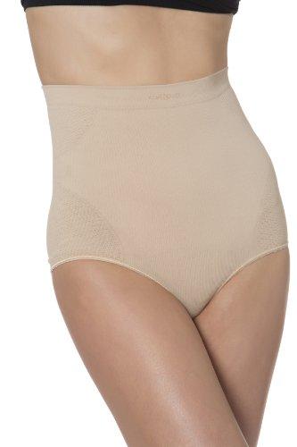c21c409ae58 N-Fini Women s Lycra High Waisted Brief Full Bottom Shapewear Panty