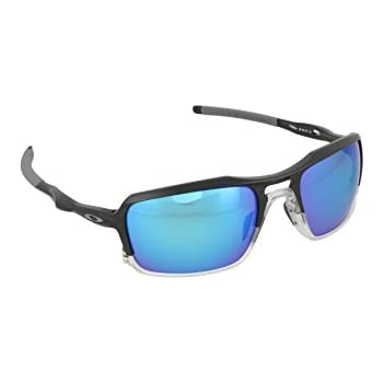 00b85ace38994 Oakley Men s Triggerman OO9266-04 Polarized Iridium Rectangular Sunglasses