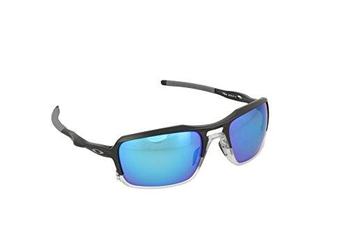 Sunglasses Iridium Polarized Tungsten - Oakley Mens Triggerman Sunglasses, Matte Black/Tungsten Iridium Polarized, One Size