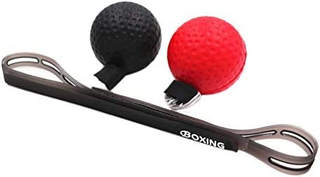 ACAMPTAR Reflex Ball,Boxing Fight Ball Reflex for Improving Speed Reactions Boxing Equipment Accessories