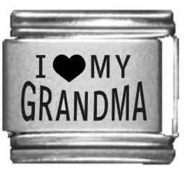 I Heart my Grandma Laser Etche