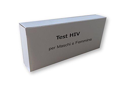 143 opinioni per Test per HIV tipo 1 e 2 per Maschi e Femmine, (Risultati in solo 10 minuti)