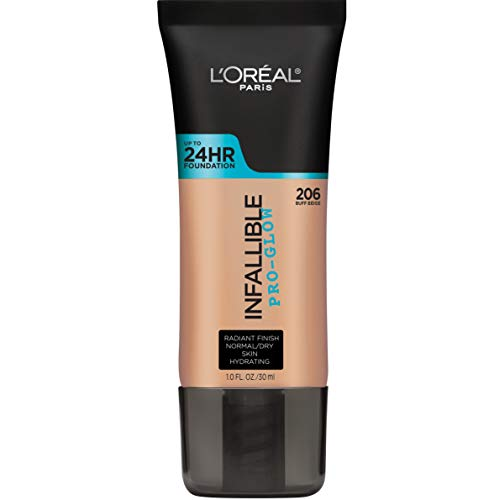 L'Oréal Paris Infallible Pro-Glow Foundation, Classic Tan, 1 fl. oz. (L Oreal Infallible Pro Matte Foundation Classic Tan)