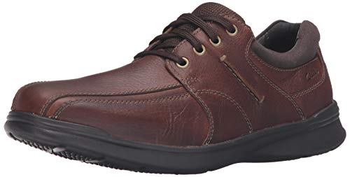 CLARKS Men's Cotrell Walk Oxford, Tobacco, 8 M - Shoes Dress Clarks