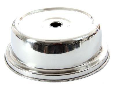 Stainless Steel 8'' Inner Dia Plate Cover., Case of 36