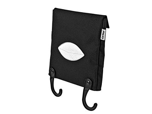AutoExec CarNap-01 Black 7.5' x 7.5' CarNap Napkin Holder
