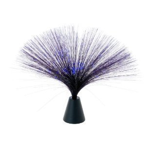 Black Fiber Optic Blue Party Light/ Night Lamp