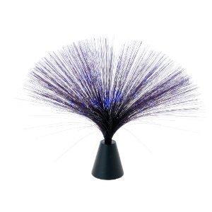 Black Fiber Optic Blue Party Light/ Night Lamp