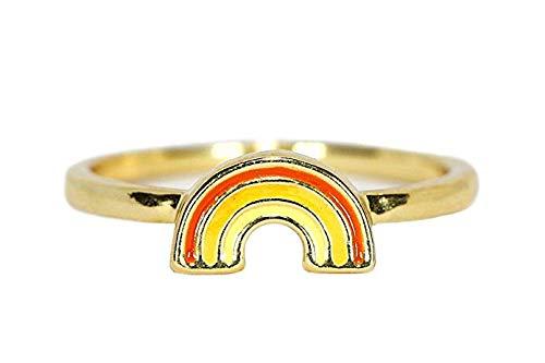 The Pura Vida Rainbow Ring travel product recommended by Adina Mahalli on Pretty Progressive.