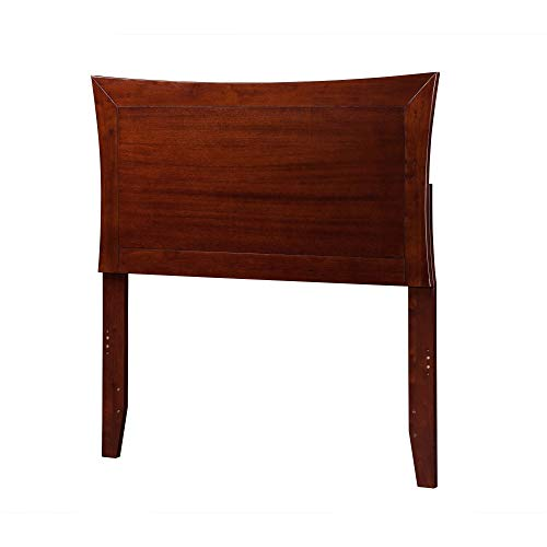 Atlantic Furniture Metro Headboard Twin Walnut ()
