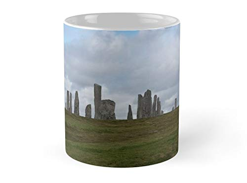 Standing Stone Circle In Isle Of Lewis Scotland 11oz Mug - Great gift for family and friends.