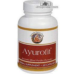 Ayurofit - Blood Purifier (Sandhu's Ayurveda) - 60 Capsules (60 ()