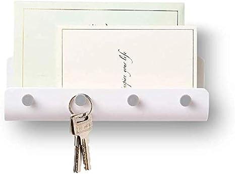 Amazon.com: Ganchos adhesivos de pared para llaves, soporte ...