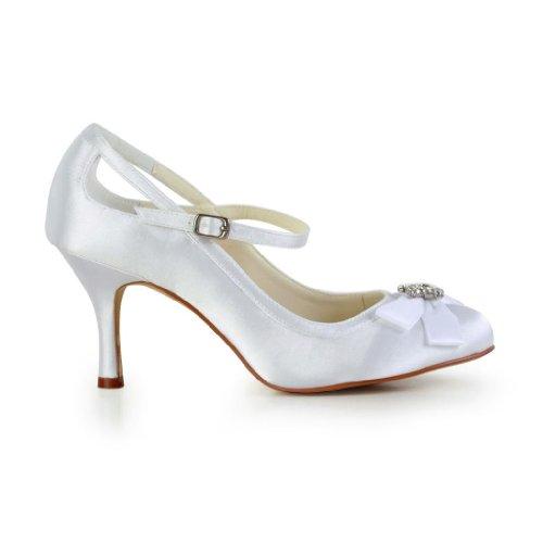 De A3113b Blanc Escarpins Mariage Wedding Chaussures Pour Femme Mariée Jia p4gvqxA