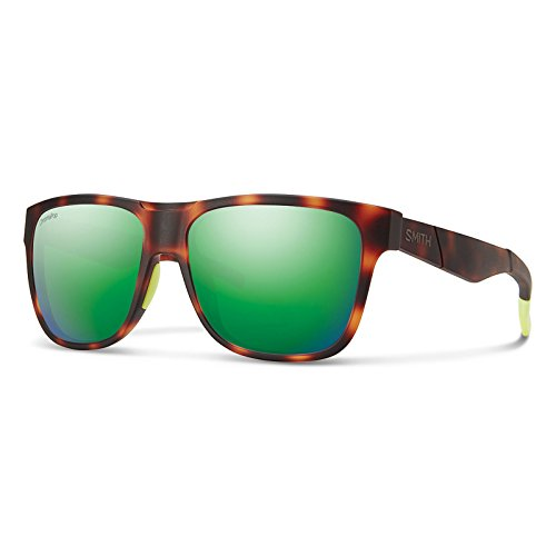 Smith Optics Lowdown Chromapop Sunglasses, Matte Tortoise Neon, Sun green - Chromapop Lowdown Smith