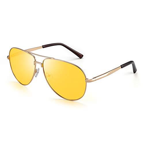 JIM HALO Night Driving Polarized Glasses Men Women
