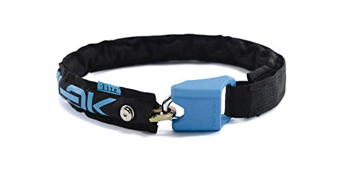 Hiplok Lite V 1.0 Chain Lock  (Black/Cyan), used for sale  Delivered anywhere in USA