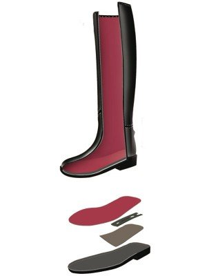 SWING Reitstiefel Slush-Mould, 37, H:38cm/W:32, 5cm