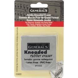 Bulk Buy: General Pencil Kneaded Eraser Jumbo 1/Pkg Latex & Lanolin Free 140EBP (6-Pack) by General Pencil