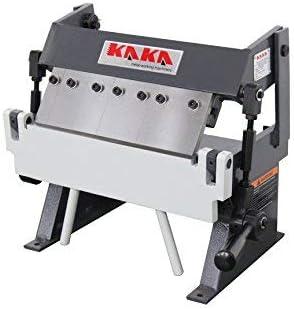 KAKA Industrial W-1220A Easy Operation High Accuracy Sheet Metal Box Pan Brake 20 Gauges Sheet Metal Brake 12-Inch Box and Pan Brake Solid Construction