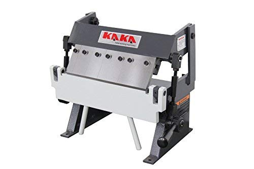 KAKA Industrial W-1220A, 12-Inch Box and Pan Brake, Solid Construction, High Accuracy Sheet Metal Box Pan Brake, Easy Operation, 20 Gauges Sheet Metal Brake