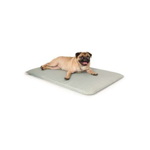 K&H Pet Products Cool Bed III Cooling Dog Bed Small Gray 17