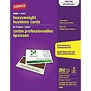 Staples® Inkjet Business Cards, (Item# 610381 / 12520) 2