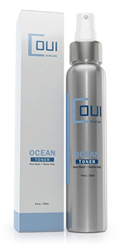 OCEAN FACIAL TONER - Pore Minimizer Tone & Tighten Skin Without Stripping Away Moisture - Alcohol Free Astringent Daily Face Toner - Best For Face, Neck, Décolleté