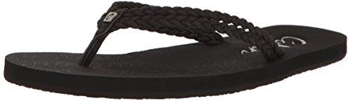 Cobian Women's LEUCADIA Flip-Flop, Black, 10 M US