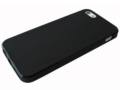 avci Base 4260344981076souple TPU Coque de protection pour Apple iPhone 5/5S Noir