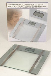 Balanza para pesar personas Báscula de baño medición del contenido de grasa y de peso: Amazon.es: Salud y cuidado personal