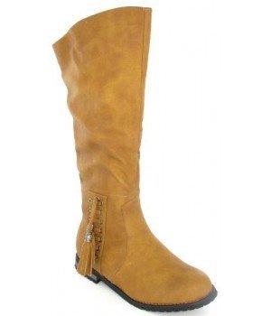 ce581bf3ba Scarpa prezzi bassi-Stivali donna, cammello, altezza 1013-8, Marrone ...