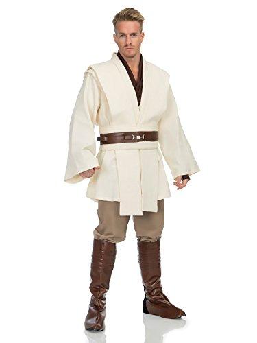 Star Wars Deluxe Obi Wan Kenobi Costume, Large ()