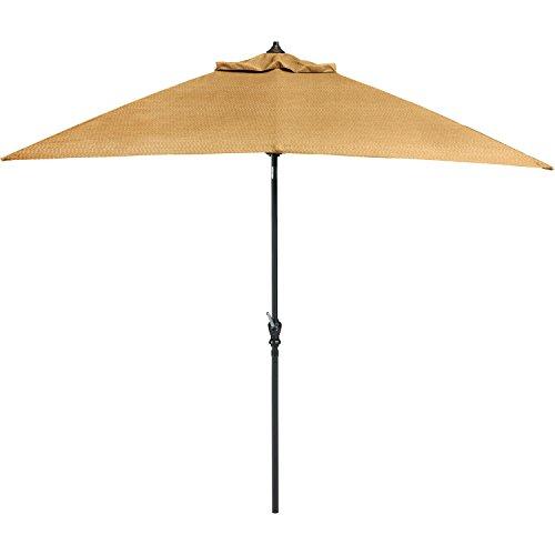 Hanover BRIGANTINEUMB Umbrella for The Brigantine Outdoor 9 Piece Dining Set, Bronze