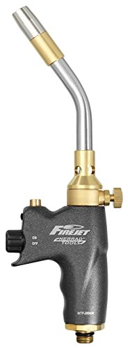 Nerrad Tools NTFJ500R Fire Jet Blow Torch for Refillable Primus Cylinders, Black (Primus Cylinder)