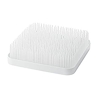 Boon Grass Countertop Baby Bottle Drying Rack, White
