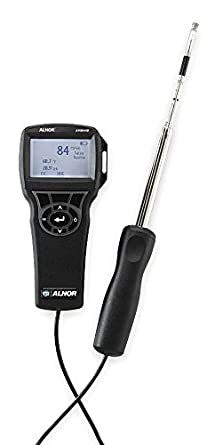 Anemometer with Humidity 0 to 6000 fpm