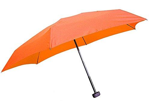 EuroSchirm Dainty - Reise-Taschenschirm - marine orange hNFRU