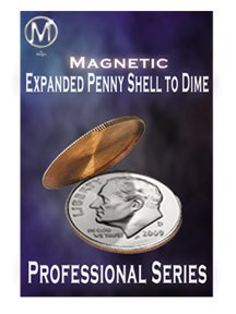 M Is Magic: Expanded Magnetic Penny Shell for Dime by M Is Magic (Magic Penny)