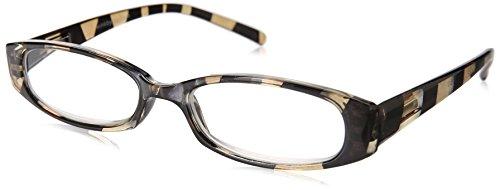 Wink Fancy Zebra Stripe Reading Glass Suede with Case, 2.50,