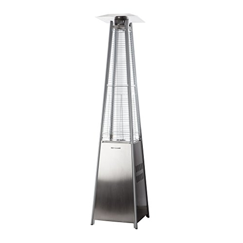 AmazonBasics Stainless Steel Pyramid Patio Heater