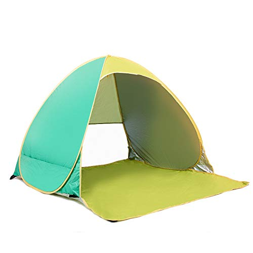 Lybin Automatic No-Build Camping Beach Shade Tent Beach Double Tent Outdoor Tent