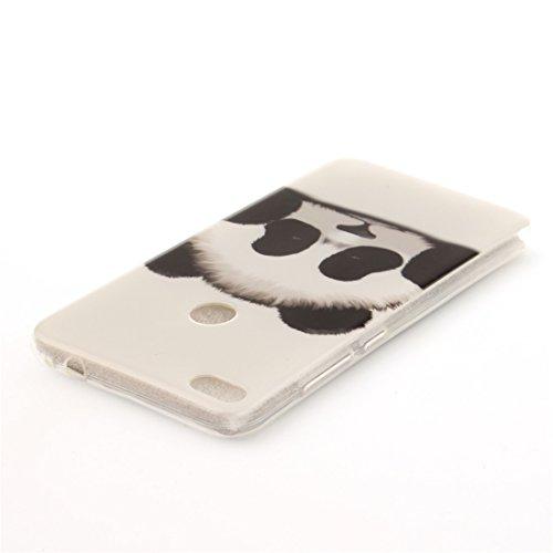 Slim Honor Fit P8 Hozor Transparent Silicone Résistant 8 Protection TPU Huawei Peint Scratch Cas Arrière De De Motif 2017 Téléphone Couverture Bord En Antichoc Lite Cas Souple Lite panda xIrwxaTq5