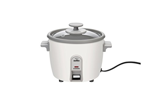 Zojirushi NHS-06 3-Cup (Uncooked) Rice Cooker (Small Japanese Rice Cooker)